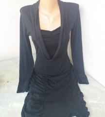 Siva trikotazna haljina vel M
