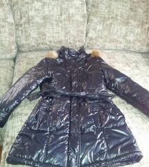 zimska jakna teget