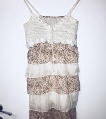Letnja cvetna haljina