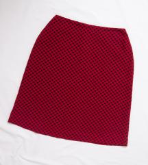 Vintage high waist mini suknja