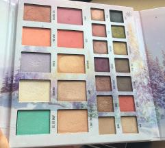 Essence into the snow glow paleta za oci i lice