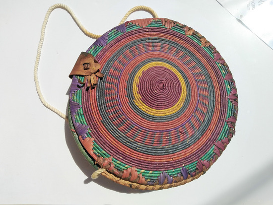 Afrička pletena torba, ručni rad