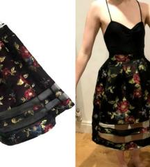 Asos Petite cvetna suknja-NOVO