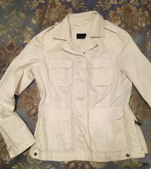 Bela suskava jaknica brendirana