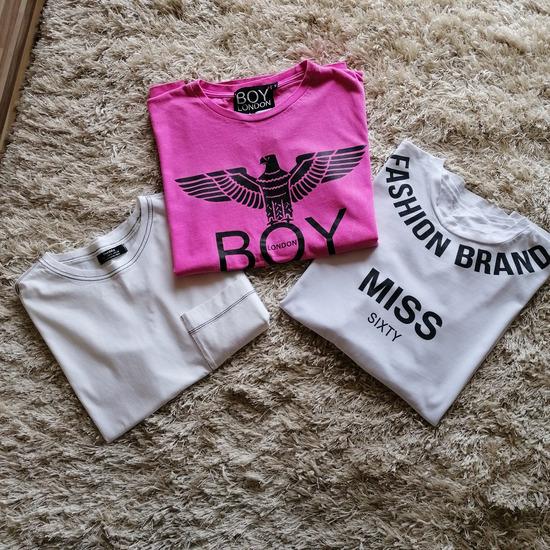 Dve zenske majice(od XS do M)(roza prodata)