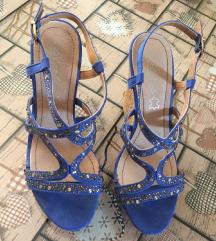 Nove plave sandale
