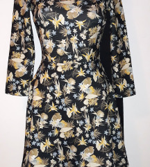 Bershka cvetna haljina