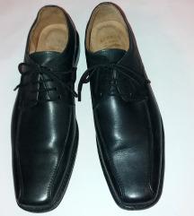 NOVE crne kožne nemačke cipele GEPARD