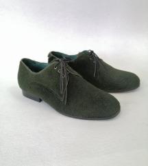Cipele oz zelene dlake