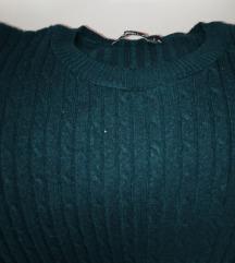 Tamno zeleni bodi džemper, RASPRODAJA