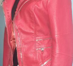 Crvena jaknica sa zipovima tooooop
