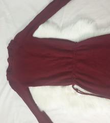 Pletena dzemper haljina