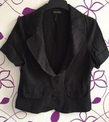 Crni komplet sako i suknja NOVO