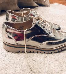 Zara srebrne cipele