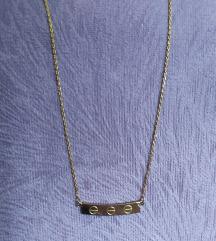 Lancic ogrlica s plocicom