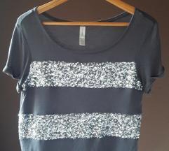 Siva majica sa šljokicama Springfield