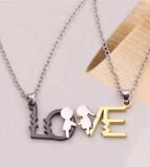 Set ogrlica za parove
