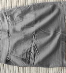 Mis siva mini suknja