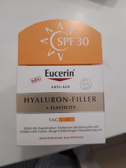 Eucerin hyaluron filler +elacticity SPF 30