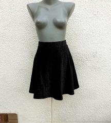 Svetlucava lambada suknja