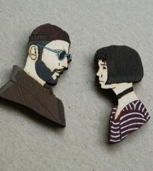 Komplet broševa - Léon & Mathilda