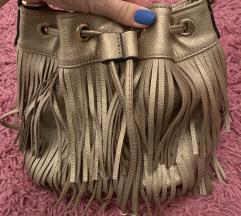 Zlatna torba sa resama