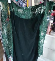 Cipkana elegantna haljina_handmade