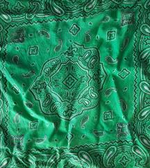 Zelena marama bandana