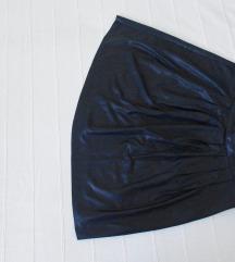 Pepe Jeans wet look suknja M