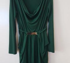 Kraljevsko zelena haljina