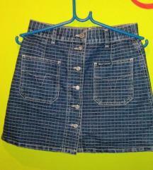 Vintage teksas suknja