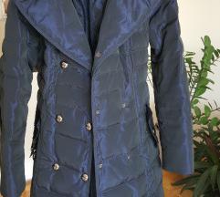 Zimska teget jakna