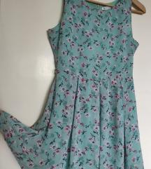 Flower haljinica lepršavo, vintage,snizenje