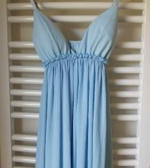 Svecana elegantna plava haljina