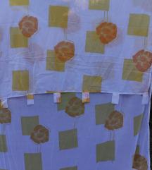 Kao nova zavesa  sa motivima suncevih boja