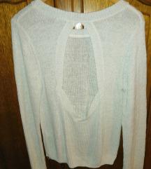 Džemper sa otvorenim leđima