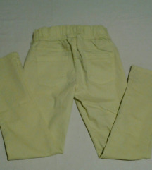 ESMARA prelepe žute pantalone/helanke,Nemacka/L.