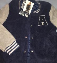 Čupava jakna Colledge velicina L nova