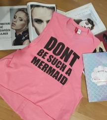 ♡♡♡H&M Mermaid pink top S♡♡♡