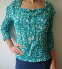 Pamučna šarena bluza