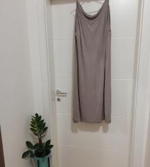 Dugacka suknja boje peska