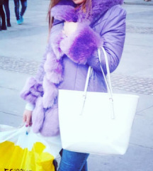 Zimska jakna nova sa krznom