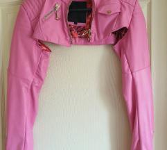 Philipp plein kozna jaknica vel S