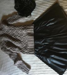 Kozna suknja-novo