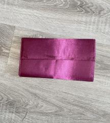 Pink satenska pismo torba