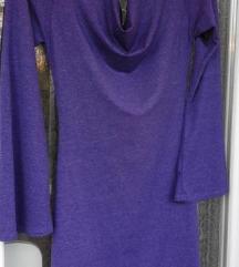 Ljubicasta haljina (trikotaza)