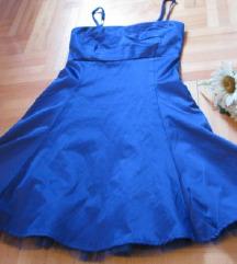 Svecana kraljevskoplava haljina nova