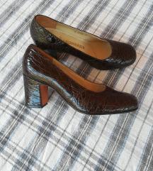 SALAMANDER kozne braon cipele