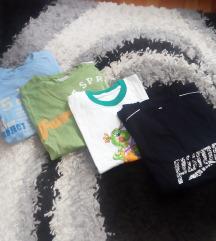 4 muske majice, vel 12