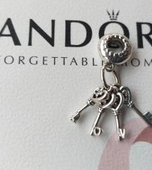 PANDORA kljucevi ljubavi